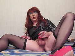 Sexy TGirl Jolanta and little dick (001)