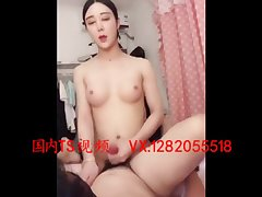人妖操射直男 Sexy and beautiful transvestite 金韩雅 the man with big cock fucking ejaculation